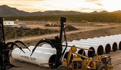 Nuovo sistema di propulsione Hyperloop One
